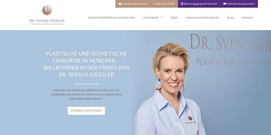 Client Plastic Surgeon Giessler from Munich
