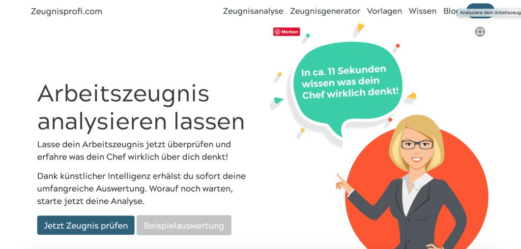 Zeugnisprofi.com Startseite